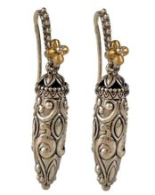 Caravan vessel earrings