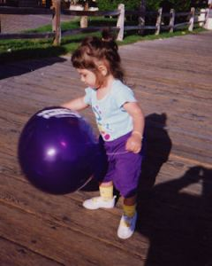 z and the purple balloon small