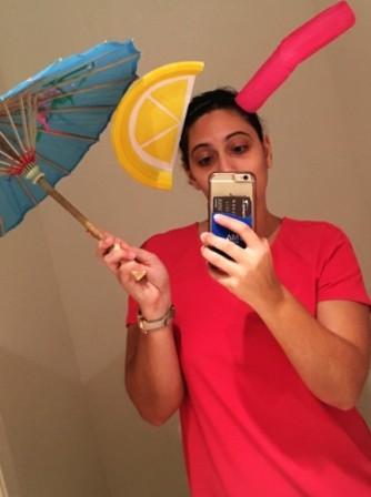 Umbrella drink.