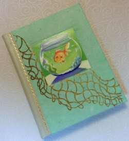 Regular edition, cover of The Goldfish.