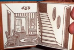 The New House. Printed letterpress. Wood engraved illustrations by Sarah Chamberlain.